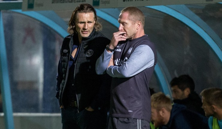 Picture of Gareth Ainsworth and Richard Dobson