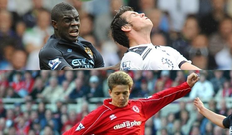 Juninho-Micah-Richards-Gareth-Bale-playing-football